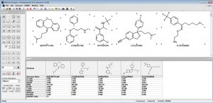 MedChem Designer with free computed properties