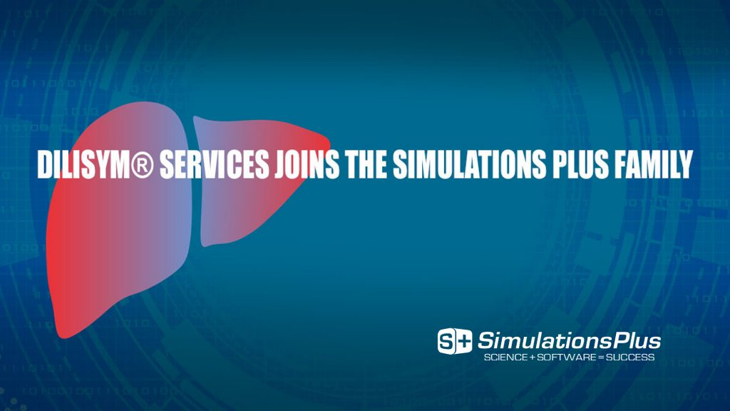 DILIsym Services, Inc. Becomes a Subsidiary of Simulations Plus
