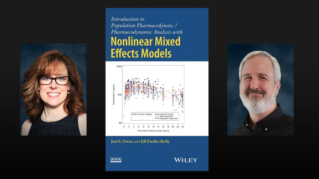 """Joel and Jill published """"Introduction to Population Pharmacokinetic / Pharmacodynamic Analysis with Nonlinear Mixed Effects Models"""""""